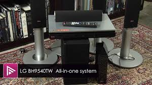 lg wireless home theater lg bh9540tw all in one home cinema system review youtube