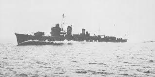 Japanese destroyer Suzukaze