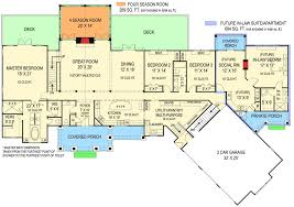 Floor Plans With Loft Rustic Ranch With In Law Suite 12277jl Architectural Designs
