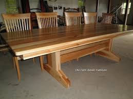 28 amish made dining room tables amish pedestal dining