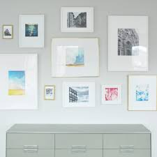 How To Make A Gallery Wall by How To Make Diy Photo Mats For Less Than 1 The Sweetest Digs