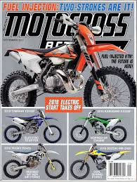 motocross action magazine subscription motocross action magazine have you seen the new mxa september