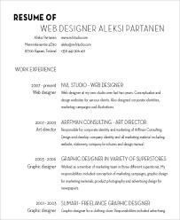 Graphic Designer Resume Sample by Designer Resume Sample 6 Examples In Word Pdf