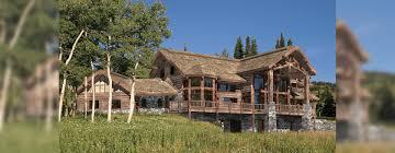 Luxury Log Home Floor Plans by Big Sky Luxury Log Home Plan