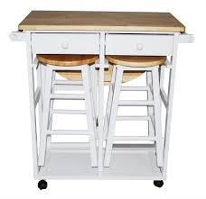 kitchen island table overstock chrome and wood cart rolling cart