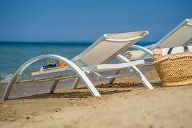 Luxury Beach Chair Gallery Perla Beach Villa Tragaki Zante Zakynthos