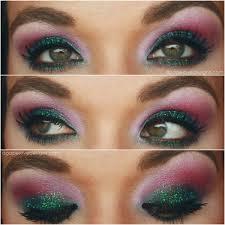 agape love designs dramatic glitter eye tutorial