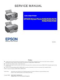 epson stylus photo r260 r265 r270 secure digital usb