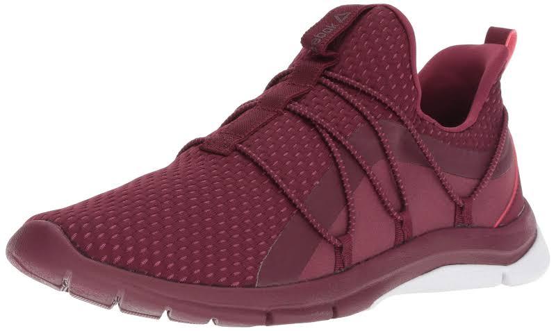 Reebok Print Her Burgundy Running Shoes