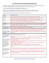 Java Resumes Luxury Design Resume Summary Statement Example 9 Cv Resume Ideas