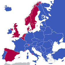 Map Of 1914 Europe by Monarchies In Europe Wikipedia