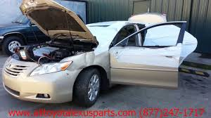 parting out 2007 toyota camry stock 3014gr tls auto recycling