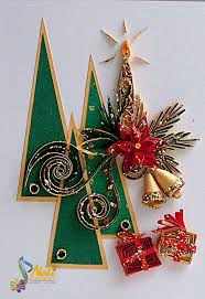 198 best cards christmas quilled images on pinterest quilling