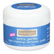 amazon com neutrogena extra gentle eye makeup remover pads