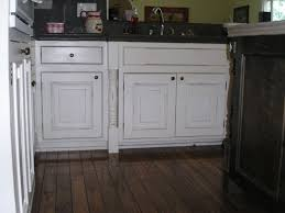 Dark And White Kitchen Cabinets Tips Select Distressed White Kitchen Cabinets Elegant Kitchen Design