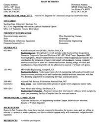 Civil Engineering Resume Samples by Sample Entry Level Automotive Engineering Resume Http