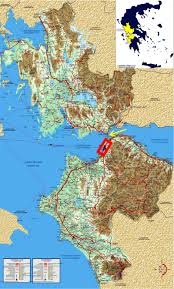 Map Of The Red Sea Map Of Greece Where The Area Of Western Greece Prefectures Of
