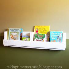 taking time to create pallet book shelf book rack