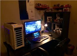 Xbox Gaming Desk by Astonishing Xbox One Gaming Setups On Gamingsetups