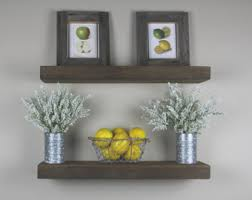 Floating Box Shelves by Solid Built Rustic Floating Box Shelf Floating Shelves