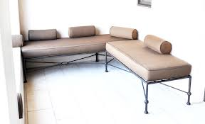 Low Back Sofa by 10003 1004 Low Back Sofa Series Modern Twist To Classic Iron