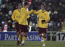 Rosicky and Bendtner