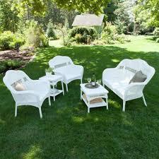 Resin Wicker Patio Furniture Sets - outdoor u0026 garden wicker patio furniture for the touch of nature