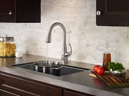 pfister react touch free kitchen faucets offer purposeful