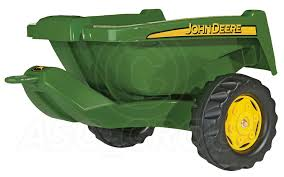 rolly toys john deere pedal tractors trailers loader tanker