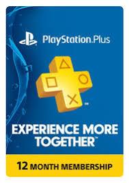 psn card black friday download playstation plus 1 year membership digital download for