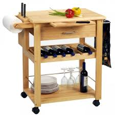 Wine Rack Kitchen Island by Sensational Drop Leaf Kitchen Island With Wine Rack And Wooden