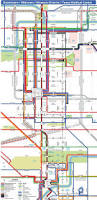 Downtown Dallas Map by Tei Traffic Engineers Inc Metro U0027s New Bus Network System Map