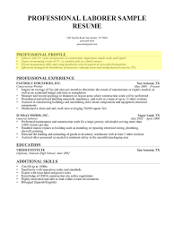 Sample Resume Objectives For Job Fair by How To Write A Professional Profile Resume Genius