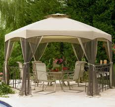 Lowes Gazebos Patio Furniture - garden pergola kits home depot allen roth gazebo lowes gazebos