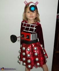 Amy Pond Halloween Costume Dalek Tenth Doctor Costume Tenth Doctor Dalek Daughters