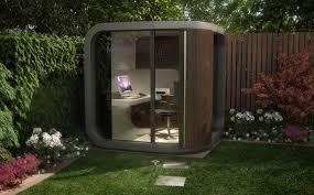 Backyard Office Prefab by Office Pod U2013 My Kind Of Garden Shed Prefab Backyard And