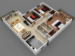 3 Bedroom House Designs Pictures Contemporary House Floor Plan With Dimensions Image Gallery Home