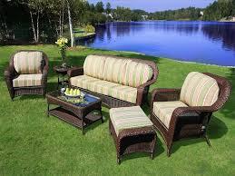 Resin Wicker Patio Furniture Sets - furniture wicker outdoor furniture sets amazing patio