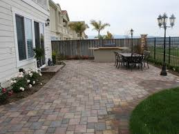 Backyard Cement Patio Ideas by Backyard Paver Patio Designs Bedroom And Living Room Image