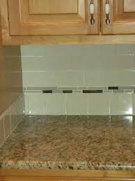 Glass Kitchen Backsplash Green Glass Tile Kitchen Backsplash Roselawnlutheran