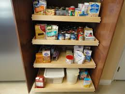 pull out shelves for kitchen cabinets inspirations with shelving