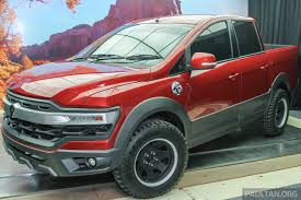 proton pick up concept debuts an exora based truck