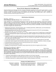 Purchasing Agent Retail Manager Resume samples