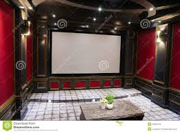 luxury home theater luxury home theater stock photography image 34802792