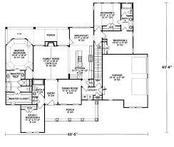 traditional style house plan 4 beds 3 00 baths 2040 sq ft plan
