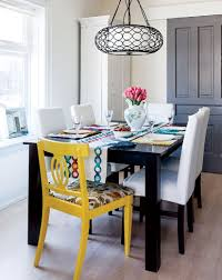 interior colourful modern victorian style at home