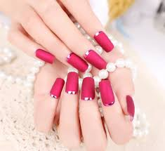 compare prices on french manicure red tips online shopping buy
