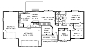 100 large ranch home floor plans 1220 front exterior front
