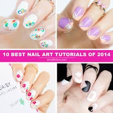 10 best sonailicious nail art tutorials of 2014