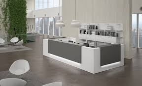 Contemporary Office Desk by Office Modern Oval Executive Office Desk With Black Countertop